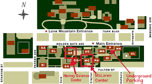 map usf how to get to the idea conference 2002