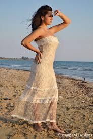 beach wedding dress net wedding dress bohemian bridal gown