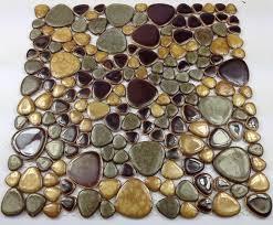Aliexpresscom  Buy Porcelain Pebble Mosaic Tile Kitchen - Pebble backsplash