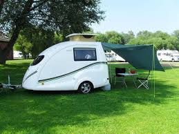 Small Caravan Awnings Go Pods Co Uk Micro Tourer Caravans Small 2 Berth Caravans