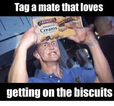 Biscuits Meme - tag a mate that loves arnotts assorted creams getting on the