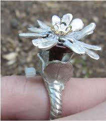 mechanical blooming flower ring 8 steps with pictures