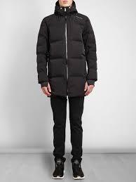 porsche design dress shoes porsche design hooded padded puffer coat in black for men lyst