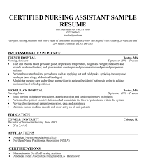 Sample Nursing Assistant Resume by Cna Resume Templates Cover Letter Cover Letter Captivating Resume