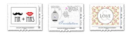 timbre personnalisã mariage les créations d ange le