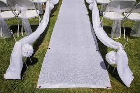 wedding aisle runner colored flower wedding aisle runner stakes shophandmade
