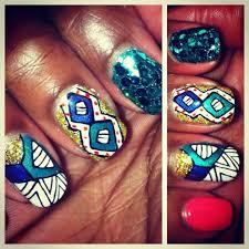 nail style barbie african print hand painted idaliassalon com