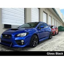 sti subaru 2016 black 2015 2016 subaru wrx sti headlight black out film
