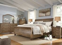 Sleigh Bedroom Furniture Francis Cottage Light Grey Wood Sleigh Bedroom Furniture