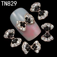online buy wholesale 3d black bows nail art from china 3d black