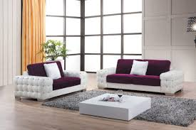 luxury leather sofas for modern living room design with white