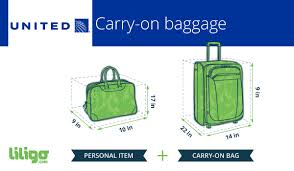 does united charge for luggage all you need to know about united airline s baggage liligo com