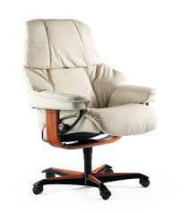 Recliner Office Chair Ekornes Stressless Reno Office Chair Authorized Clearance Discounts