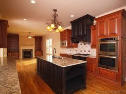dark cherry wood cabinets paint colors with cherry cabinets