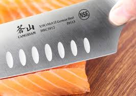 cangshan n series 7 inch german steel santoku knife wayfair