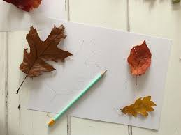 autumn leaves sun catchers craft for kids the gingerbread house