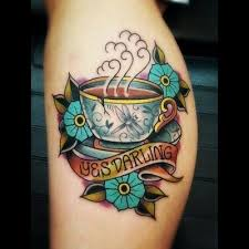 121 best coffee tattoos images on pinterest coffee tattoos