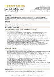 Energy Analyst Resume Legal Analyst Resume Samples Qwikresume