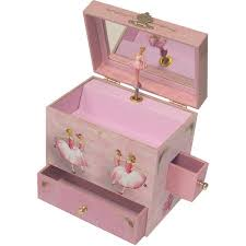 personalized ballerina jewelry box enchantmints ballerina musical jewelry box walmart