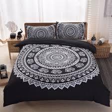 Vintage Comforter Sets Bedding Tie Dye Bedding Boho Chic Blue Bohemian Vintage Comforters