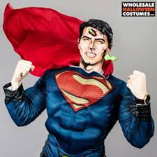 Superman Halloween Costume Battle Damaged Superman Batman Superman Makeup Tutorial