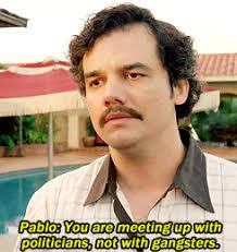 Pablo Escobar Meme - gif s01e03 s01 wagner moura pablo escobar narcos narcopablo
