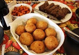 vegan stuffed rice balls classic italian dish reinvented