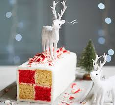peppermint candy cane battenberg recipe bbc good food