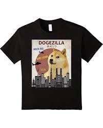 Funny Doge Memes - amazing deal on kids dogezilla t shirt funny doge meme shiba inu