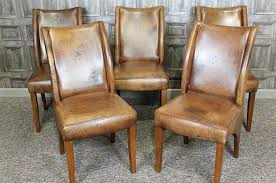 rustic leather dining chairs arm chair gray dining chairs kitchen