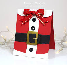 santa claus card so happy holidays
