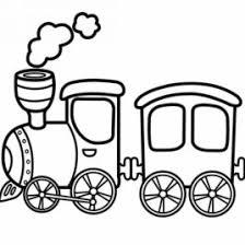free printable coloring train coloring 08 transport land