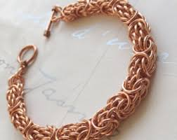 solid copper necklace chain images Mens copper jewelry etsy jpg