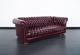 chesterfield sofa vintage burgundy leather chesterfield sofa for sale at 1stdibs