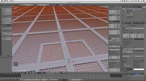 Floor Grates by Blender Tutorial Making A Metal Grate Floor Youtube