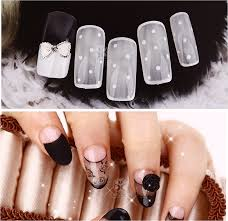 piggieluv creepy 3d ghost face nail art how to do gel nails at