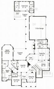 house plans with detached guest house floor plan of florida mediterranean house plan 64695