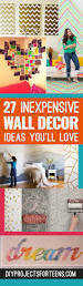 Inexpensive Wall Art by Cool Cheap But Cool Diy Wall Art Ideas For Your Walls Diy Wall