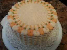 orange pineapple carrot cake with blueberry filling u0026 cream cheese