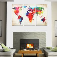 3pcs colorful world map frameless canvas print mural painting home 3pcs colorful world map frameless canvas print mural painting home decoration