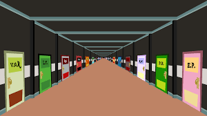 the cafe hallway by thelooneyturtle on deviantart