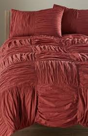 Nordstrom Duvet Covers Gorgeous Saffron Red Ornamental Embroidered 7 Piece Duvet Cover