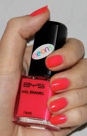 bys cracked nail polish kit neon pink coat jpg