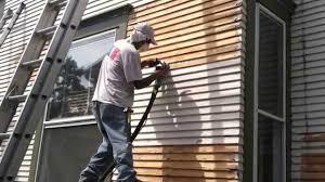 Painting House how to treat wood siding modernize