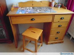 bureau pin bureau pin massif etagère tabouret a vendre 2ememain be