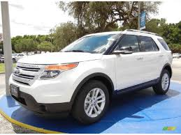 Ford Explorer Ecoboost - 2015 ford explorer xlt 2 0l ecoboost in white platinum a31976