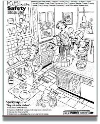 coloring pages of kitchen things kitchen coloring page cooking in the kitchen coloring pages kitchen