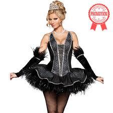 Black Swan Costume Halloween Deluxe Seductive Swan Costume N5103