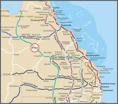 Qantas Route Map by Getting Here Australia U0027s Dinosaur Trail