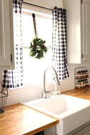 kitchen window decor ideas modern window treatment ideas for living room affordable
